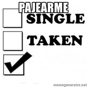 single taken checkbox - pajearme