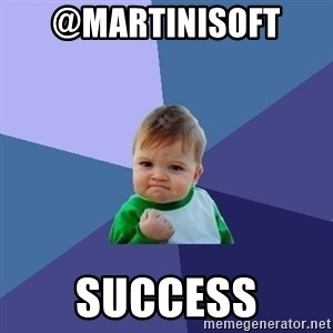 Success Kid - @martinisoft  success