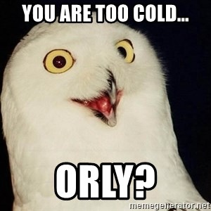 Orly Owl - you are too cold…  ORLY?