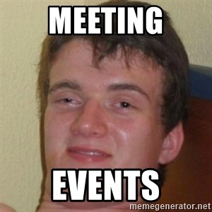 10guy - meeting events