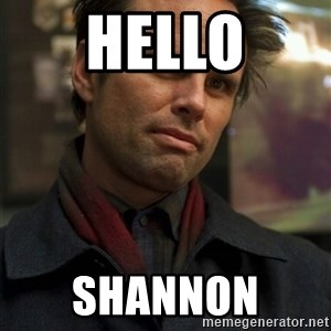 Boyd Crowder - HELLO SHANNON