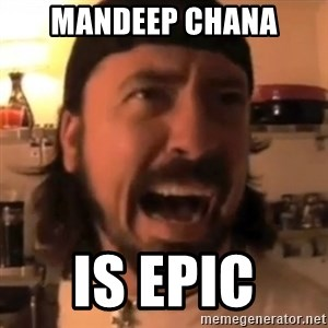 Dave Grohl - Mandeep chana Is epic