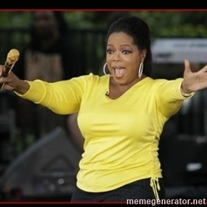 Overly-Excited Oprah!!!  -