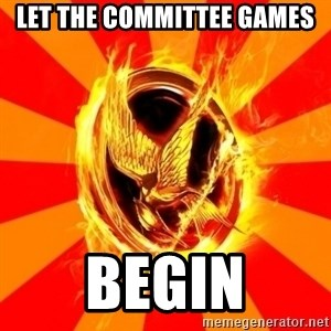 Typical fan of the hunger games - let the committee games begin