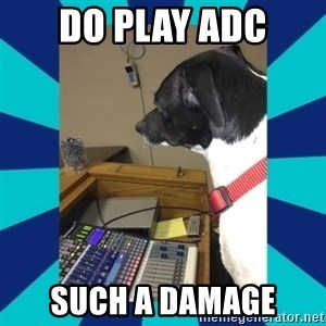 doge - Do play adc such a damage