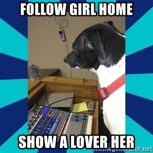 doge - follow girl home show a lover her