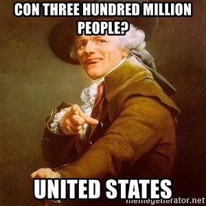 Joseph Ducreux - con three hundred million people? united states