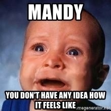 Very Sad Kid - mandy you don't have any idea how  it feels like