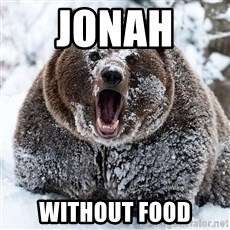 Cocaine Bear - jonah  without food