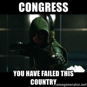 YOU HAVE FAILED THIS CITY - Congress You have failed this country