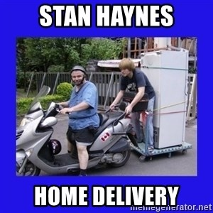 Motorfezzie - Stan Haynes home delivery
