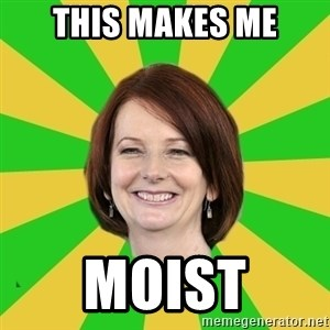 Julia Gillard - This makes me moist