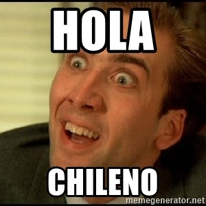 You Don't Say Nicholas Cage - hola   chileno
