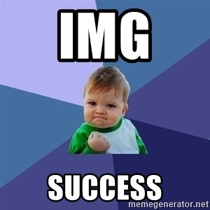 Success Kid - img  success