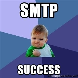 Success Kid - smtp  success