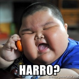 Fat Asian Kid -  Harro?
