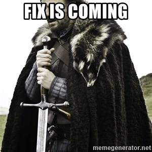 Sean Bean Game Of Thrones - fix is coming