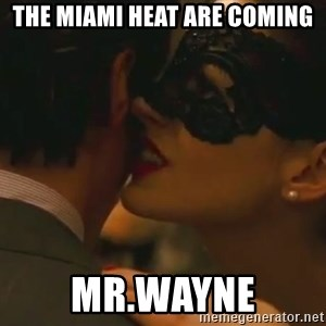 Storm Coming - The miami heat are coming mr.wayne