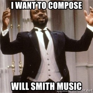 Geoffry - i want to compose will smith music