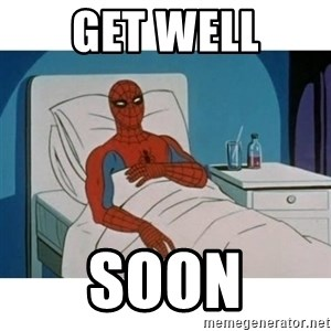 SpiderMan Cancer - Get Well Soon