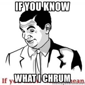 Mr.Bean - If you know what I mean - IF YOU KNOW WHAT I CHRUM