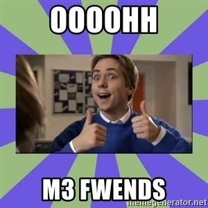 INBETWEENERS FRIEND - oooohh M3 fwends