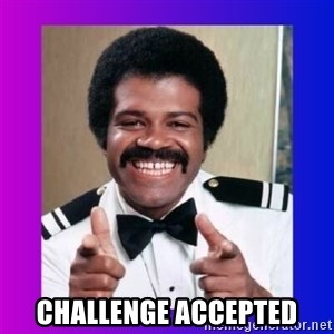 Love Boat Isaac -  challenge accepted