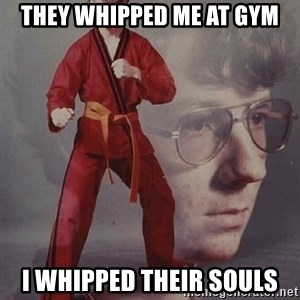 PTSD Karate Kyle - They whipped me at gym i whipped their souls