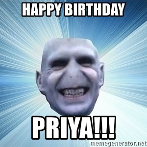 vold - Happy Birthday Priya!!!