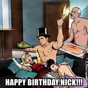 Archers party -  Happy Birthday nick!!!