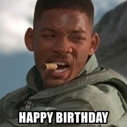 Will Smith 1blah -  Happy Birthday