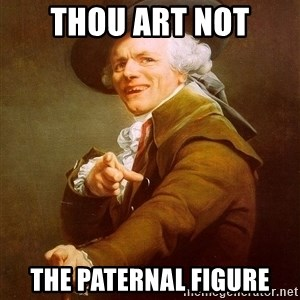 Joseph Ducreux - thou art not the paternal figure