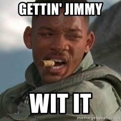 Will Smith 1blah - gettin' Jimmy wit it