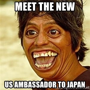 Crazy funny - meet the new us ambassador to japan