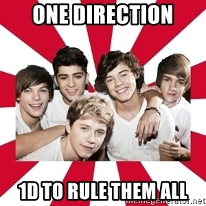 one direction yeah - One direction 1D to rule them all