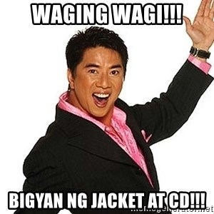 willie revillame 2 - waging wagi!!! bigyan ng jacket at cd!!!