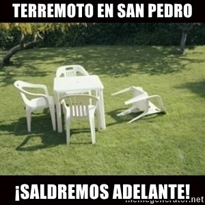 we will rebuild  - terremoto en san pedro ¡saldremos adelante!
