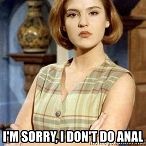 Chantal Andere -  i'm sorry, i don't do anal