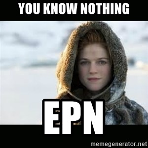 Ygritte - YOU KNOW NOTHING EPN