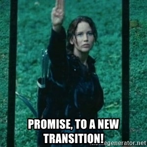 Katniss respect -  promise, to a new transition!
