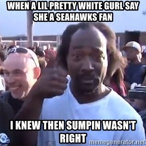 charles ramsey 3 - when a lil pretty white gurl say she a seahawks fan i knew then sumpin wasn't right