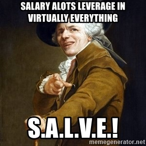 Joseph Ducreaux - Salary Alots Leverage in Virtually Everything S.A.L.V.E.!