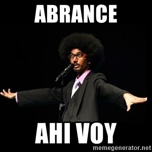 AFRO Knows - abrance ahi voy