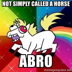 Lovely Derpy RP Unicorn - Not Simply called a Horse Abro