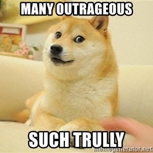 so doge - Many outrageous such trully