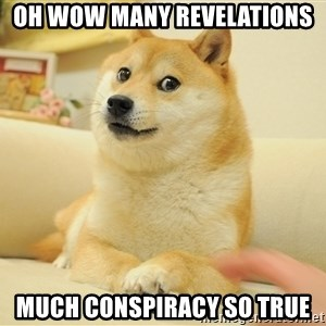 so doge - oh wow many revelations much conspiracy so true