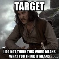 Inigo Montoya Princess Bride - Target I do not think this word means what you think it means