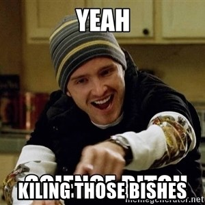 jesse pinkman science -  Kiling those Bishes