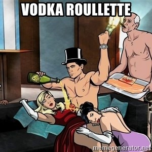 Archers party - vodka roullette