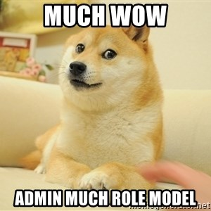 so doge - Much Wow admin much role model